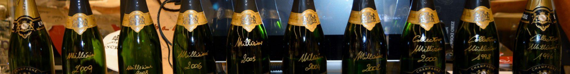 """Verticale Encry 2009-1996 Uno Champagne """"Italiano"""""""