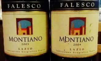 """Un rosso Italiano con l'accento """"Francese"""": Montiano Falesco 2003-2004"""