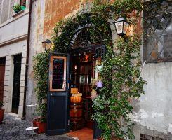 Osteria la Fiaschetta: a due passi da Campo de' Fiori.