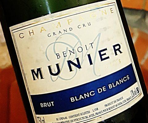 Champagne Benoit Munier Blanc de Blancs Brut Grand Cru