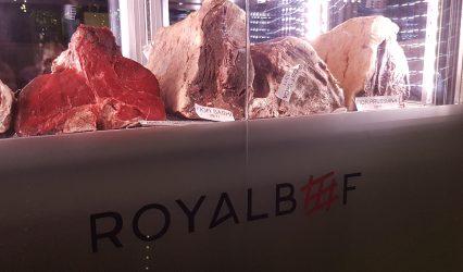 Royal Beef: solo carne di prima scelta.